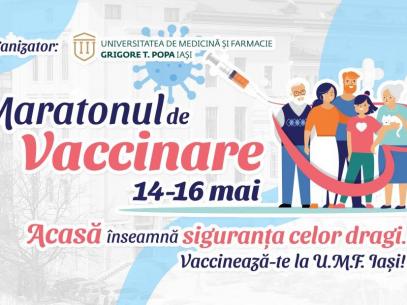 Cetățenii R. Moldova, cu dublă cetățenie, se pot vaccina împotriva COVID-19 la UMF Iași