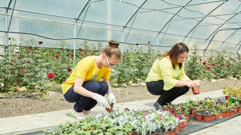Școala Profesională din Bubuieci – singura instituție din R. Moldova care pregătește floricultori pentru piața muncii, beneficiara unui proiect finanțat de UE