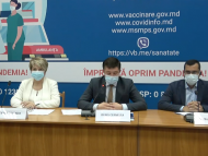 """VIDEO/ Autoritățile din sănătate, despre certificatul de imunizare: """"La moment, nu este definitivat cadrul juridic și de procedură care va permite preluarea certificatului de vaccinare de către R. Moldova. Suntem în așteptare"""""""