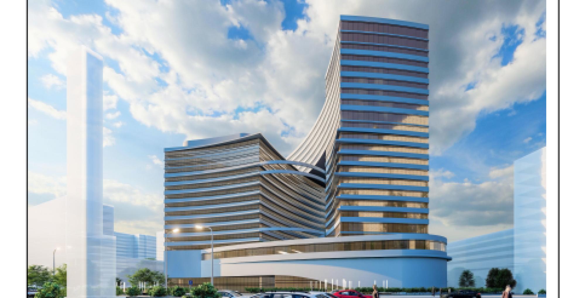 FOTO, DOC/ Consultări publice asupra proiectului care prevede construcția unui complex multifuncțional în locul Hotelului Național. Cum ar putea arăta obiectivul