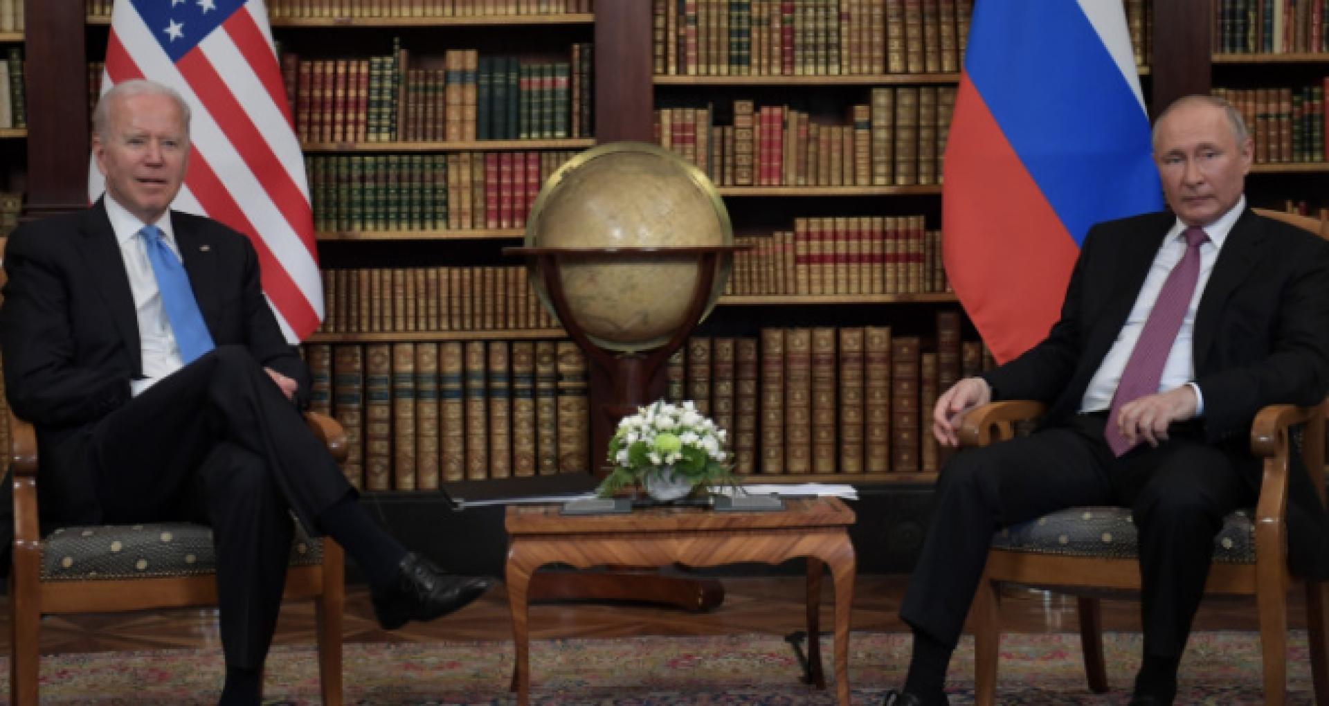 VIDEO/ Prima întâlnire oficială între Putin și Biden, la Geneva: Negocierile s-au desfășurat cu ușile închise
