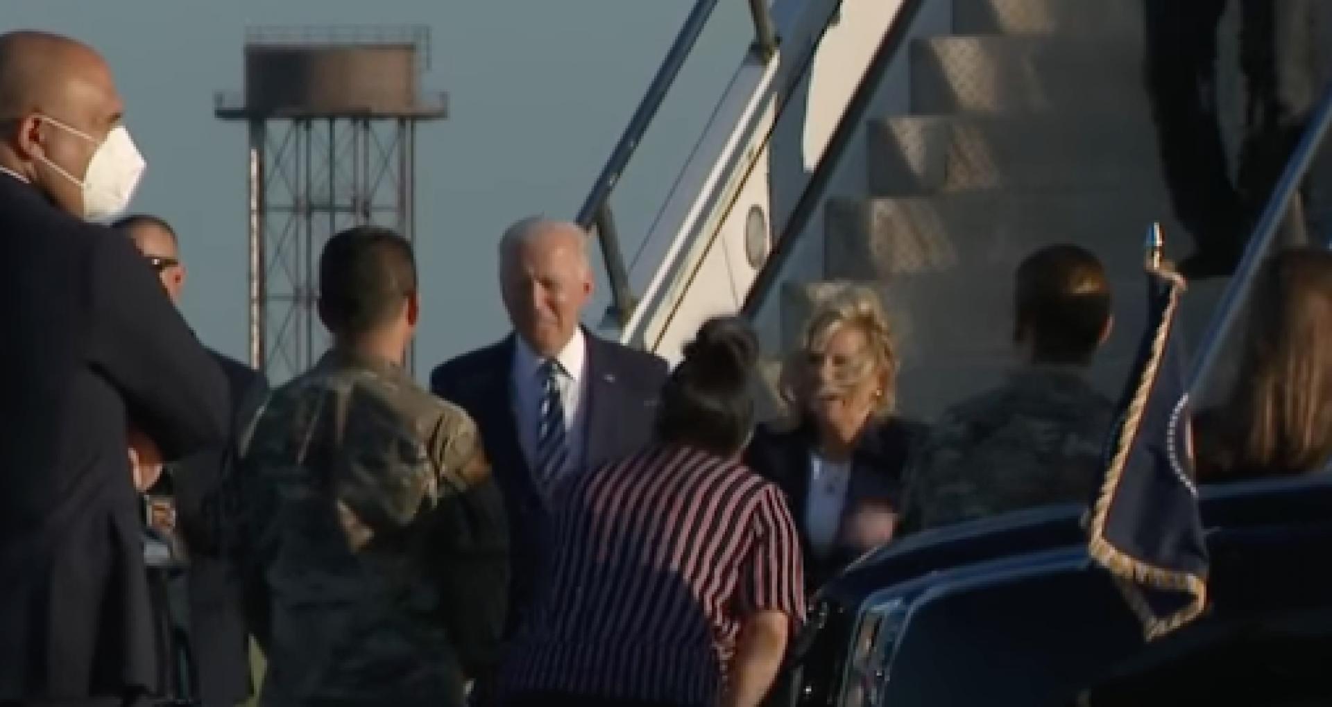 VIDEO/ Joe Biden a ajuns în Regatul Unit. Avertismentul făcut către Rusia