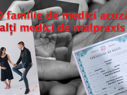 """O familie de medici acuză alți medici de malpraxis: """"În sufletul meu va fi mereu un gol, de mărimea și forma fiului meu"""""""