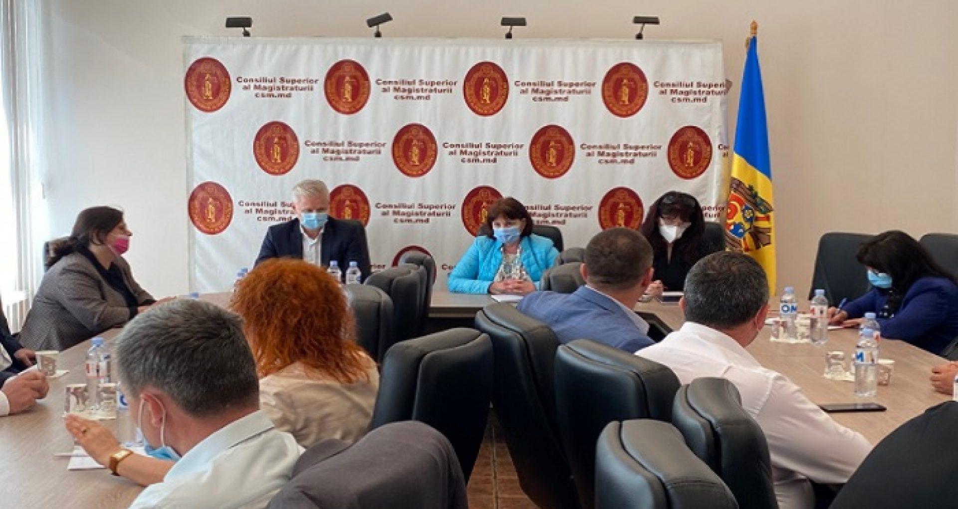 """CSM, după ședința cu participarea conducătorilor instanțelor judecătorești din R. Moldova: """"Magistraţii au identificat data optimă pentru convocarea Adunării Generale a Judecătorilor"""""""
