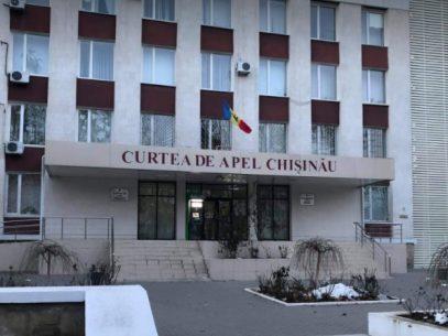 DOC/ Noi completuri de judecată la Curtea de Apel Chișinău, aprobate printr-o dispoziție a președintei interimare a instituției
