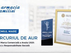 Farmacia Familiei – Marca Comercială a Anului 2020
