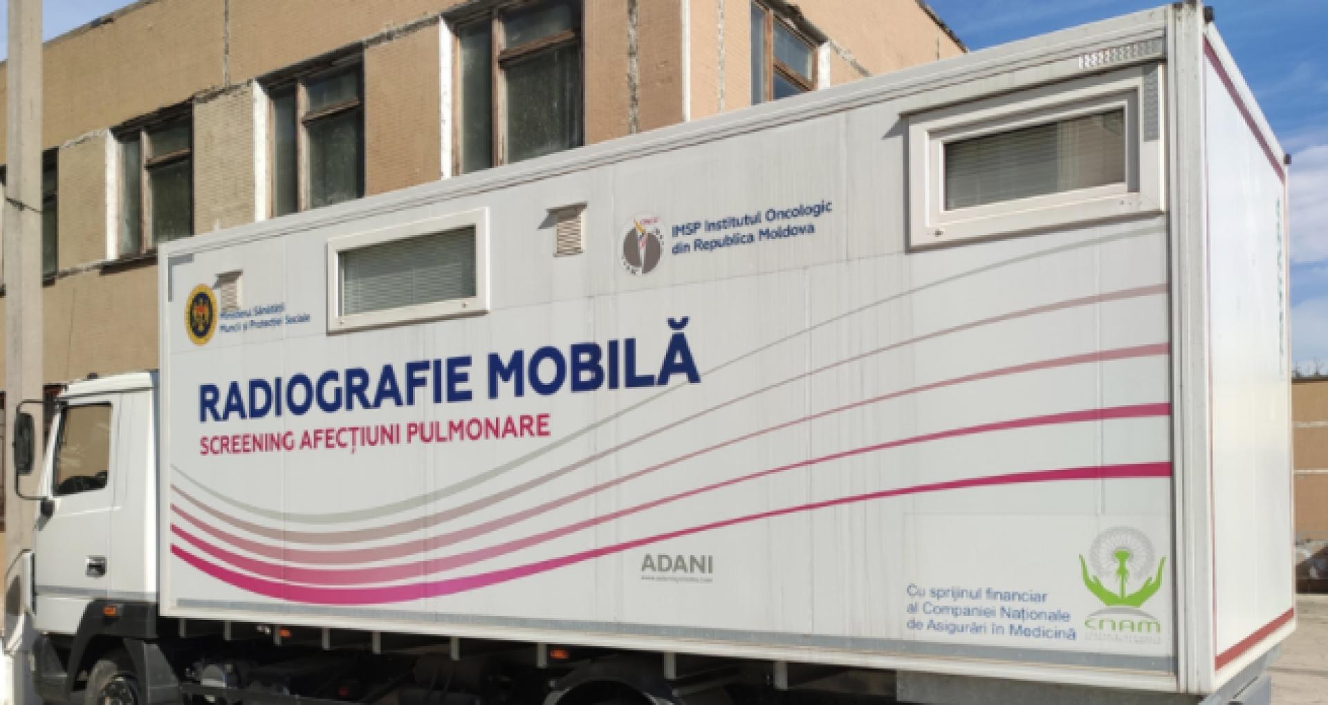 Puncte mobile de screening mamar, pulmonar şi servicii stomatologice – în mai multe localități din R. Moldova. Detalii de la CNAM