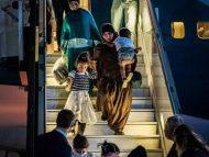 O femeie împreună cu cei șapte copii ai săi au fost repatriați în Ucraina din Siria. Timp de doi ani, au trăit într-o tabără de refugiați, după ce au scăpat de Statul Islamic