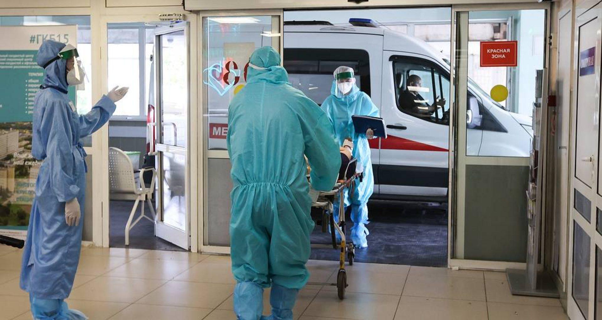 Rusia raportează 22 de mii de cazuri noi de infectare cu COVID-19, în ultimele 24 de ore