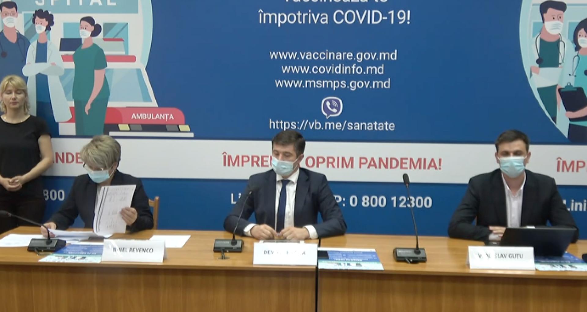 ULTIMA ORĂ/ Autoritățile din sănătate anunță că R. Moldova va recepționa în perioada următoare peste 50 mii de doze de vaccin AstraZeneca din partea Letoniei și Lituaniei și 7020 de doze de vaccin Pfizer