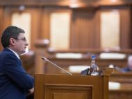 Discursul lui Igor Grosu, unicul candidat înaintat la funcția de președinte al Parlamentului, de la tribuna principală a Legislativului