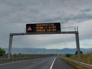 Restricții de circulație pe traseele din România din cauza caniculei