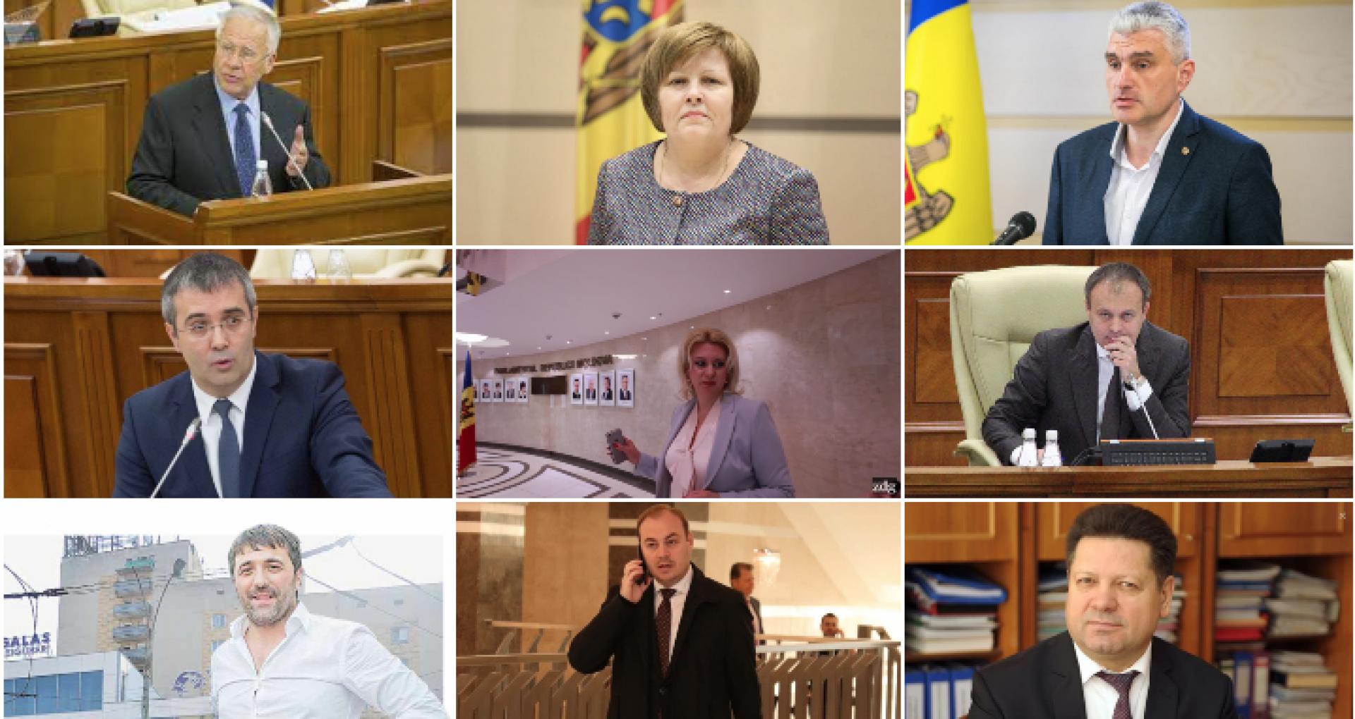 Transfugii  Ivanov, Sîrbu, Nichiforciuc, Andronachi, finul lui Plahotniuc, Candu și medicul-deputat Gațcan. Lista ex-parlamentarilor care nu mai prind un loc în Parlament