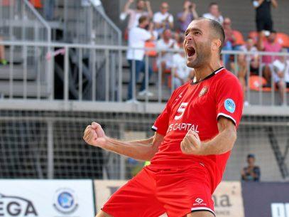 FOTO/ R. Moldova, în premieră, s-a calificat în finala Campionatului European de fotbal pe plajă