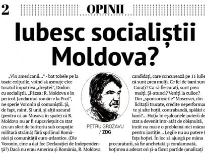 Iubesc socialiștii Moldova?