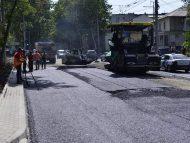 FOTO/ Circulația pe strada Ion Creangă rămâne sistată până, cel puțin, la sfârșitul anului: În contract este stipulat luna martie 2022