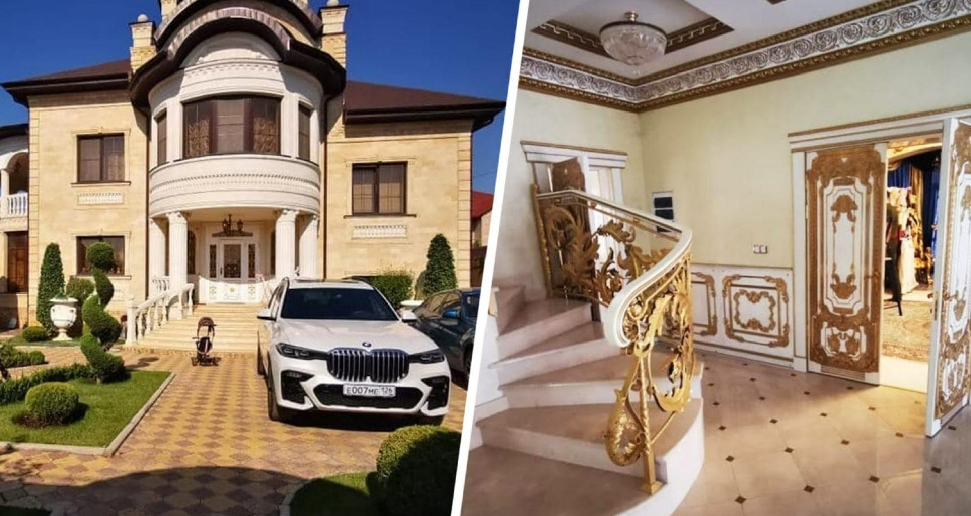 """VIDEO/ Un deputat al Dumei de Stat a publicat imagini cu """"palatul"""" luxos și toaleta aurie a șefului reținut al poliției rutiere din Stavropol"""