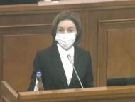 ULTIMA ORĂ/ Președinta R. Moldova, Maia Sandu anunță că va avea, mâine, consultări cu fracțiunile parlamentare pentru identificarea candidatului la funcția de prim-ministru