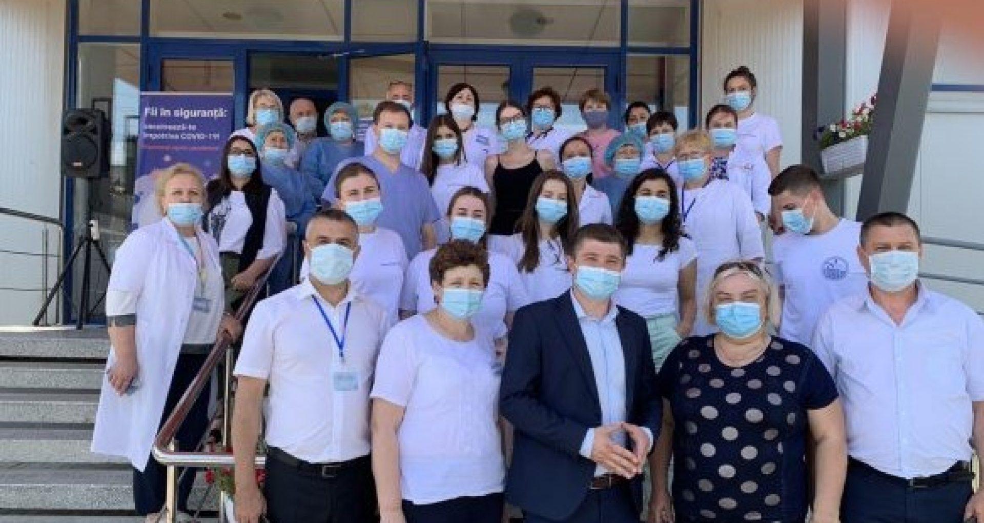 Sute de oameni  din raioanele Briceni, Căușeni și UTA Găgăuzia s-au imunizat împotriva COVID-19, ultimele 24 de ore
