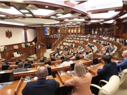 Parlamentul a decis convocarea sesiunii extraordinare: Guvernul Gavriliță va cere vineri votul de încredere al deputaților
