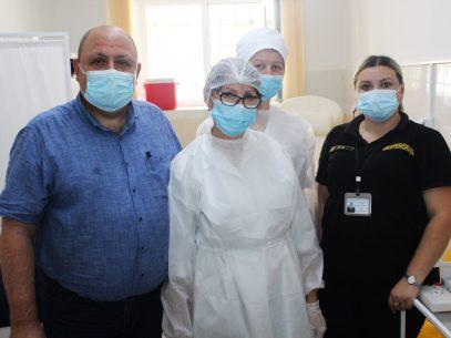 FOTO/ Deținuții Penitenciarului nr. 11 din Bălți, imunizați anti-covid cu a doua doză de vaccin