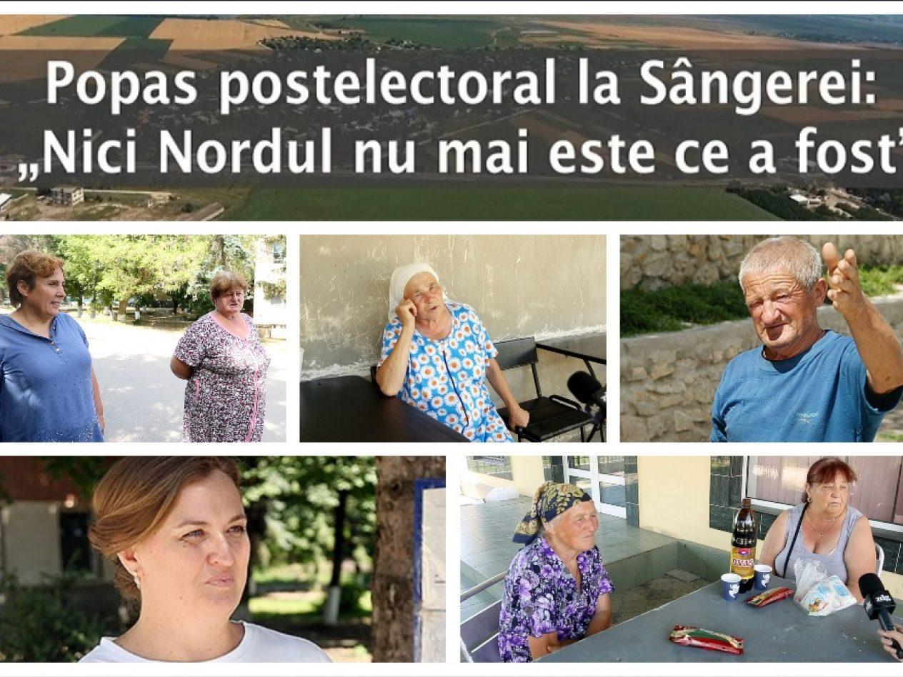 """VIDEO/ Popas postelectoral la Sângerei: """"Nici Nordul nu mai este ce a fost"""""""
