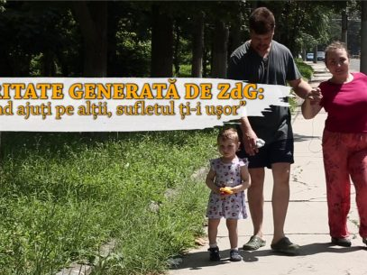 """Caritate generată de ZdG: """"Când ajuți pe alții, sufletul ți-i ușor"""""""