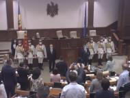 """ULTIMA ORĂ! Igor Grosu este președintele noului Parlament ales al R. Moldova: 64 de deputați au votat pentru: """"Vreau să mulțumesc în primul rând cetățenilor că au făcut posibil acest lucru"""""""