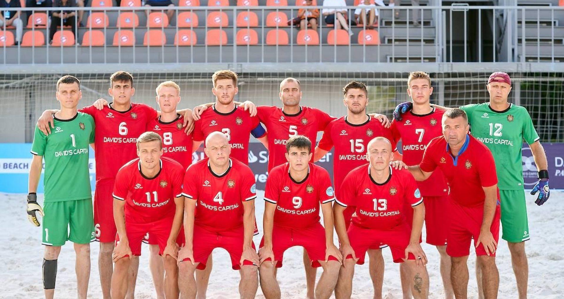 În premieră, R. Moldova câștigă calificările Campionatului European de fotbal pe plajă