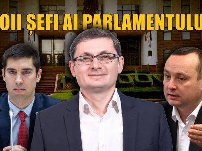 Noii șefi ai Parlamentului: Casa modestă a lui Grosu și firma lui Bătrîncea din fostul apartament al mamei