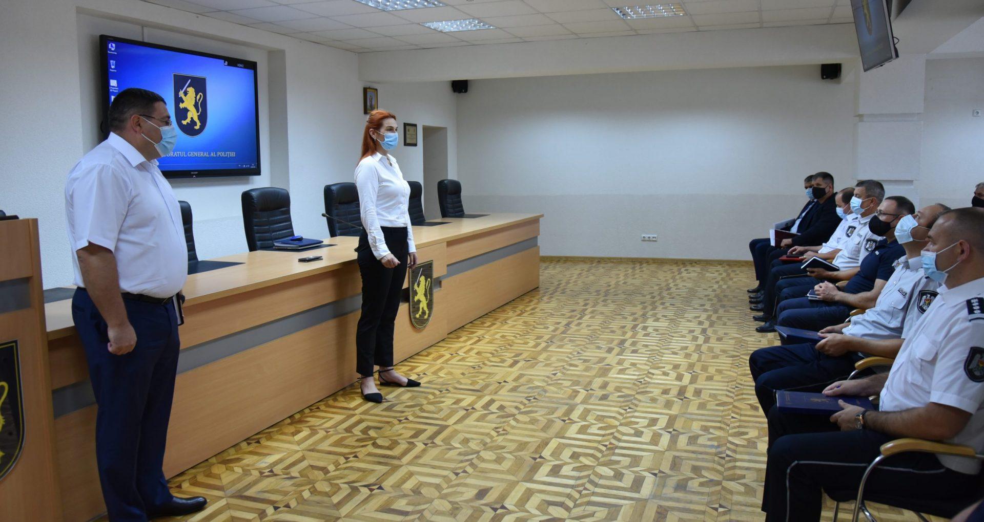 FOTO/ Lilian Carabeț este noul șef interimar al Inspectoratului General al Poliției