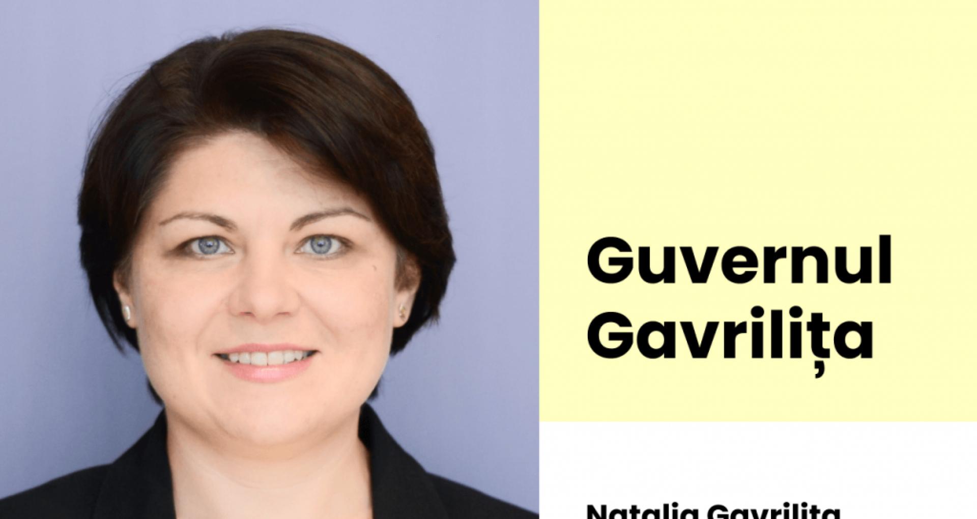 """Natalia Gavrilița, după ce a fost publicată lista candidaților la funcția de miniștri: """"Imediat după învestirea Executivului, programul de guvernare va fi pus în consultări publice"""""""