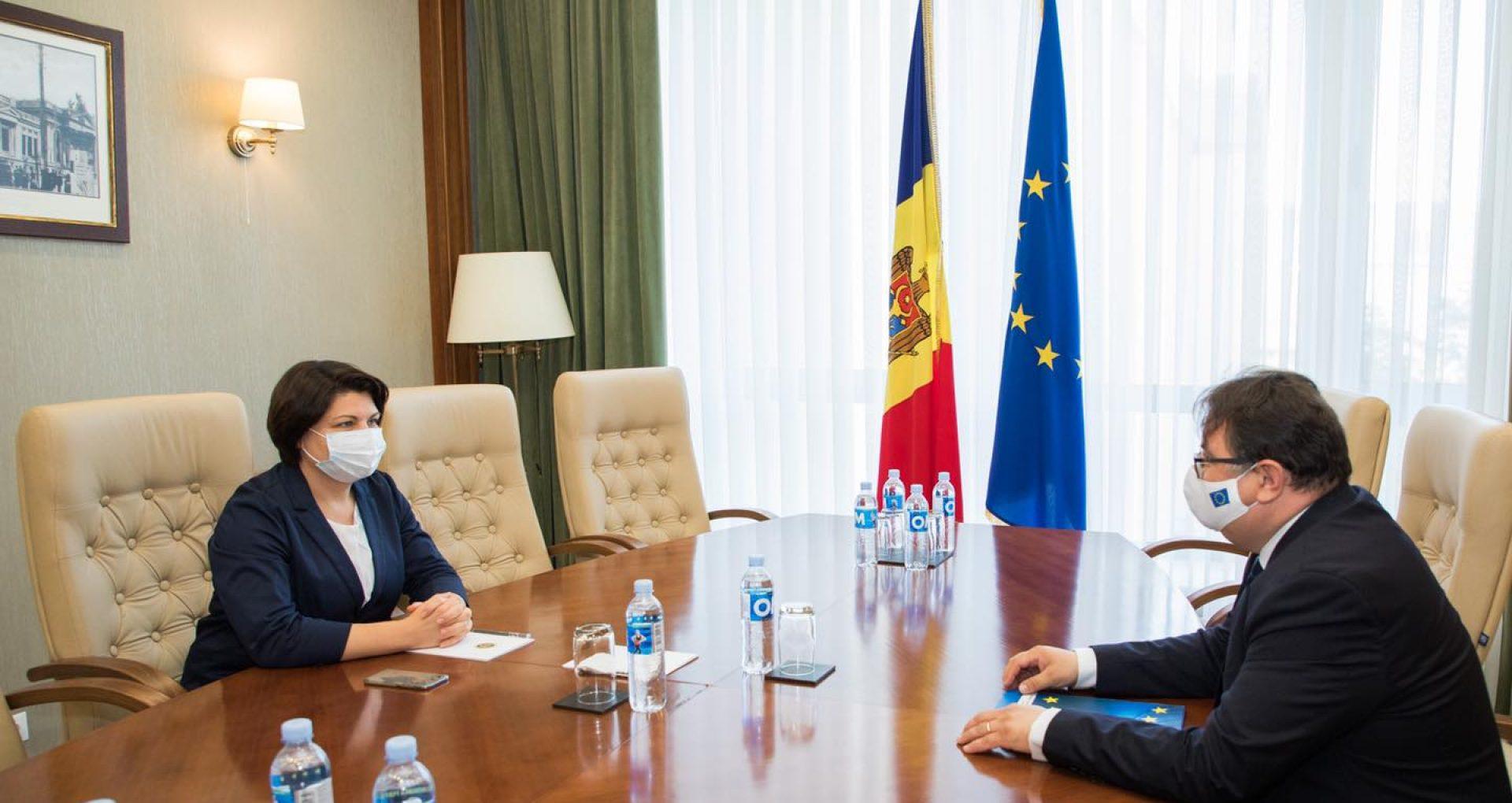 Natalia Gavrilița, la discuții cu Peter Michalko. Asistența macrofinanciară în valoare de 50 de milioane de euro ar putea ajunge în țară până la sfârșitul lunii septembrie