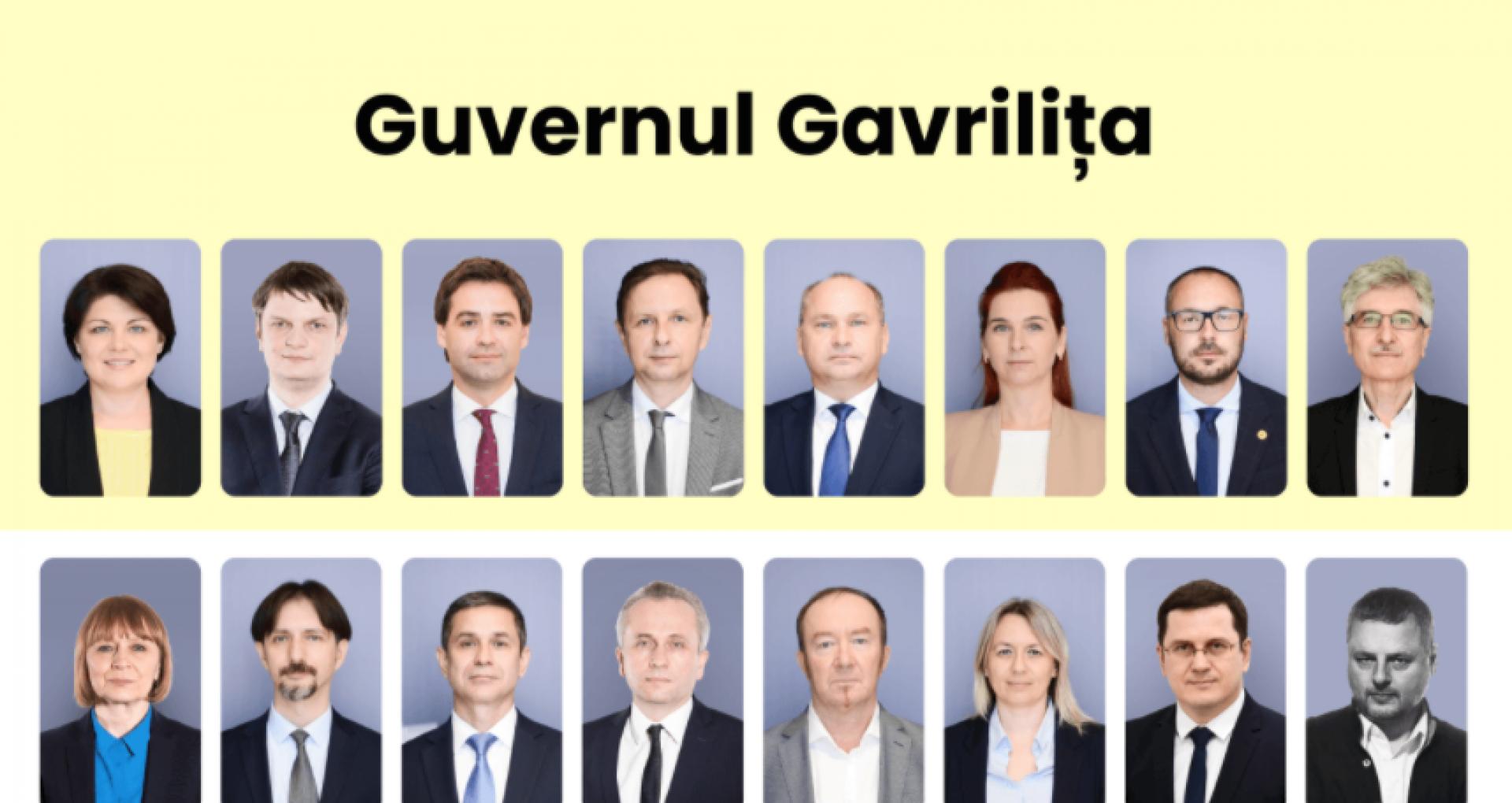 ULTIMA ORĂ! A fost făcută publică lista miniștrilor desemnați în Guvernul Nataliei Gavriliţa. Este oficial: vor fi 13 ministere