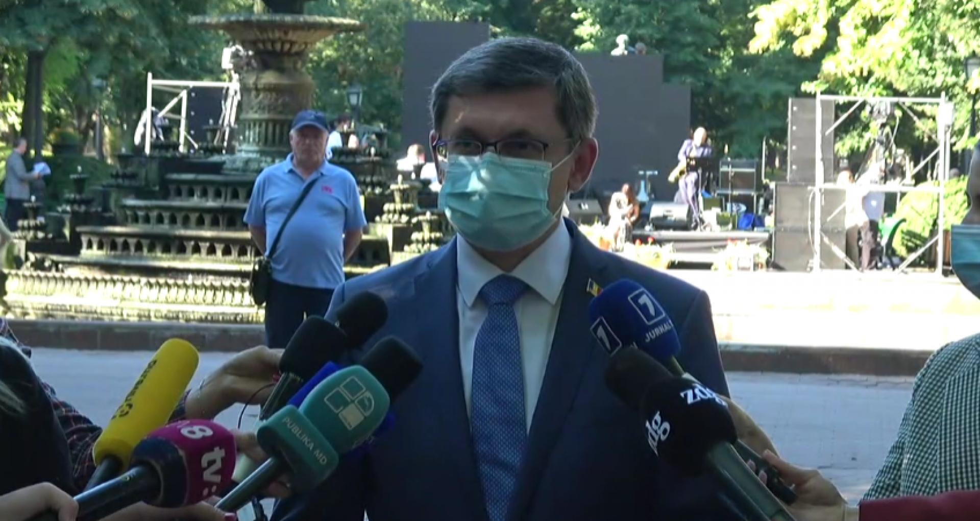 VIDEO/ Ce spune președintele Parlamentului despre apelul lansat de Academia de Științe de a schimba articolul din Constituție care se referă la denumirea limbii de stat