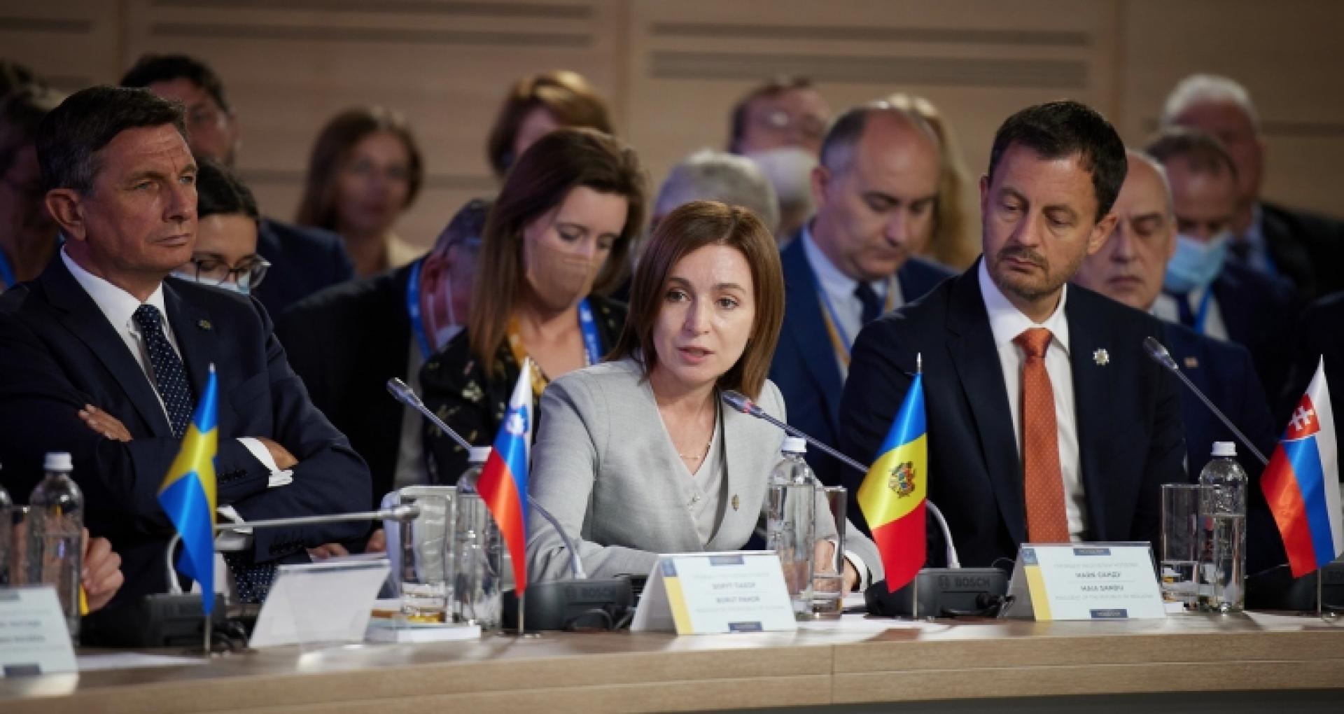 """DOC/ Suma cheltuită de instituția prezidențială pentru participarea președintei Sandu la Summitul de inaugurare a """"Platformei Crimeea"""""""