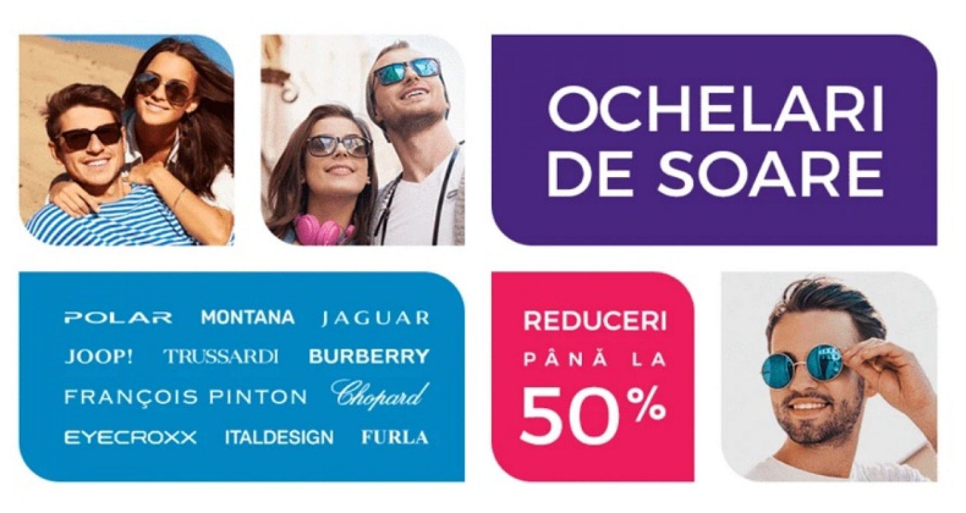 Mega reduceri la ochelari de soare originali / pâna la 50%