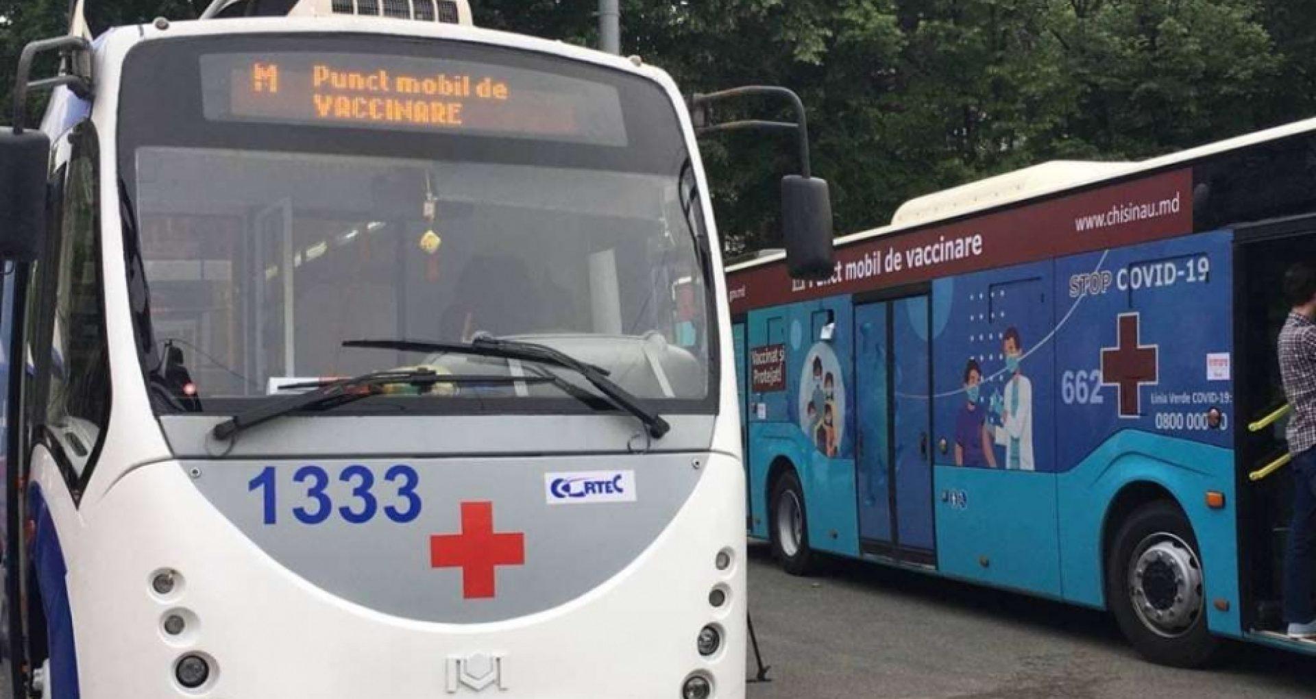 DOC/ Punctele mobile de vaccinare antiCOVID-19 vor activa și în august