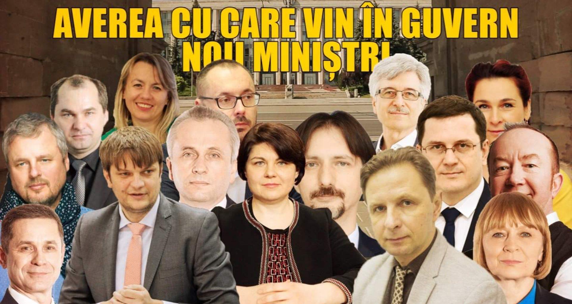 VIDEO/ Averea cu care vin în Guvern noii miniștri