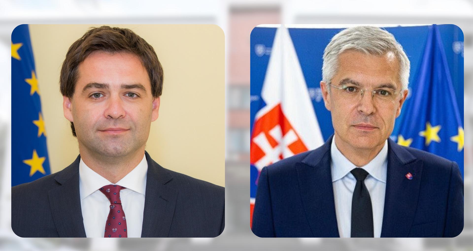Ministrul afacerilor externe și europene al Republicii Slovace va efectua miercuri o vizită la Chișinău