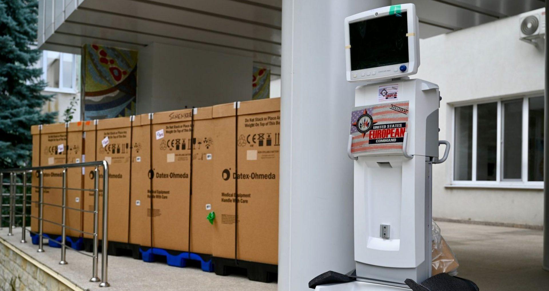 FOTO/ SUA au donat sistemului medical din R. Moldova un nou lot de asistență umanitară