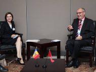 """Șefa statului, întrevedere cu președintele Confederației Elvețiene în cadrul sesiunii a 76-a a Adunării Generale a ONU: """"Am discutat să intensificăm negocierile privind acordul de liber schimb cu țările EFTA"""""""