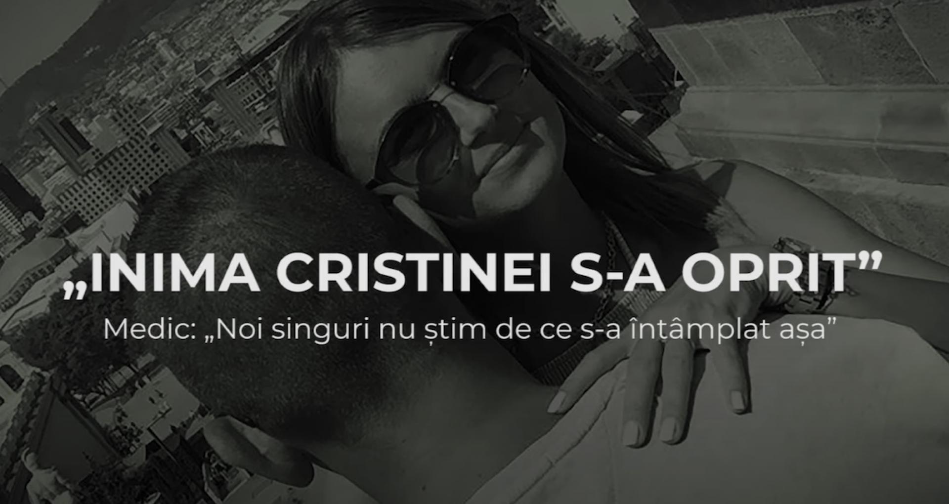 """VIDEO/ """"Inima Cristinei s-a oprit"""". Medicii: """"Noi singuri nu știm de ce s-a întâmplat așa"""""""
