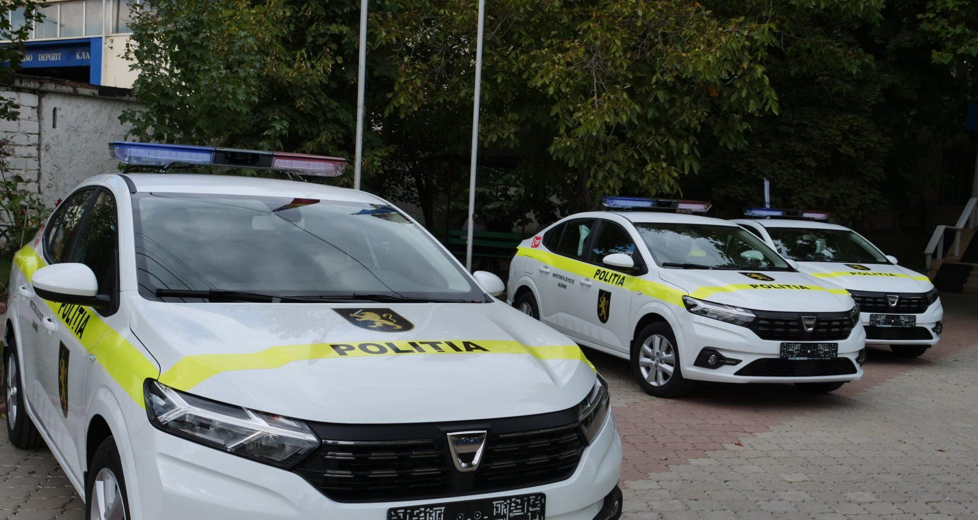 IP Ialoveni a primit trei mașini și 25 de seturi de echipament IT, în cadrul unui proiect transfrontalier finanțat de UE
