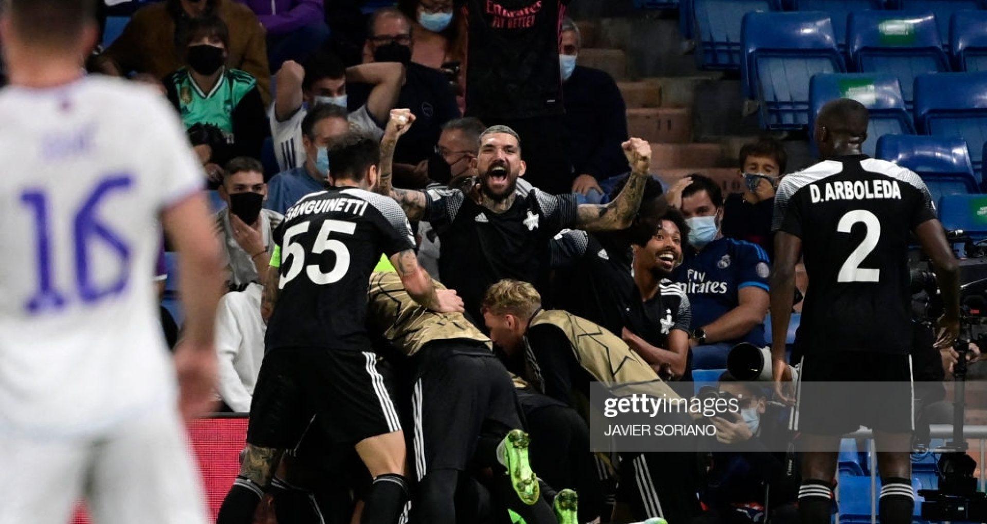 Sheriff Tiraspol scrie istorie. Campioana R. Moldova la fotbal a învins-o pe Real Madrid, în a doua etapă a grupelor Ligii Campionilor