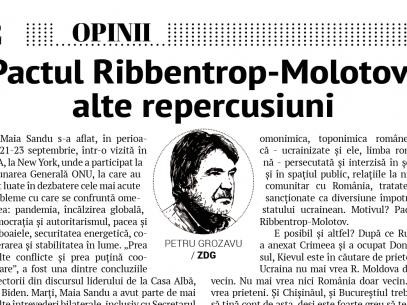 Pactul Ribbentrop—Molotov: alte repercusiuni