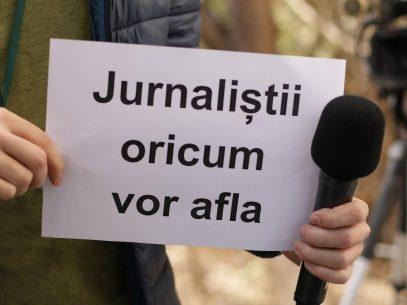 VIDEO/ Problema accesului la informații, relatată de jurnaliști de la patru instituții media