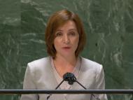 """VIDEO/ Președinta Sandu, la Adunarea Generală a ONU: """"Rămânem ferm dedicați identificării unei soluții politice pașnice pentru conflictul din regiunea transnistreană a țării noastre"""""""