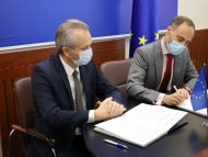 Șeful Reprezentanței OIF pentru țările Europei Centrale și de Est a semnat Convenția de Parteneriat privind redinamizarea proiectului claselor bilingve în R. Moldova