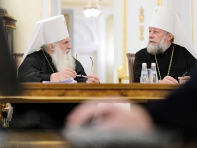 Mitropolia anunță că Înaltpreasfințitul Vladimir a efectuat o vizită la Moscova